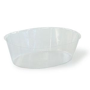 12 Quot Oval Plastic Liner