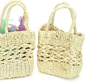 Natural Twine Purse
