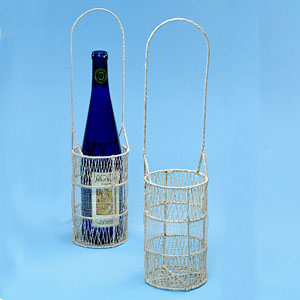 Twine/Sinamay Wine Holder