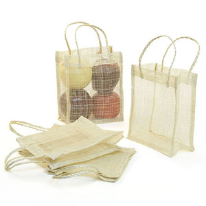 Sinamay Bag 6x7 pack by 10