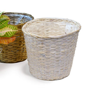"10"" BAMBOO POT COVER (12"" Round)"
