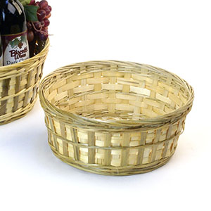 "10"" Natural Bamboo Bowl"