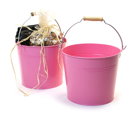 Metal Pails With Handles