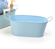 "12"" Oval Tub Light BLue"