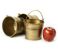 5 Quot Mini Pail Antique Brass