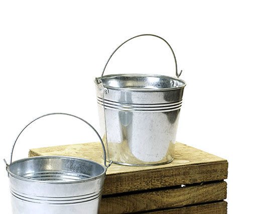7 Inch Galvanized Pail Basket Wholesalers