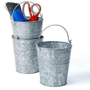 5 Quot Galvanized Pail Wash