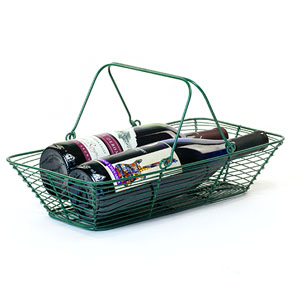 Wire Rectangle Market Basket