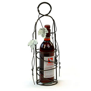 Metal Single Wine Holder