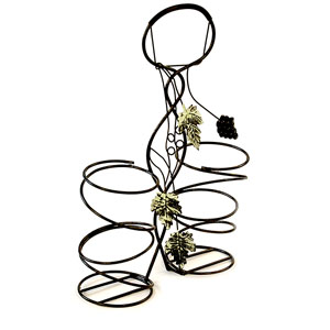 Metal/Wire Wine Holder Powder